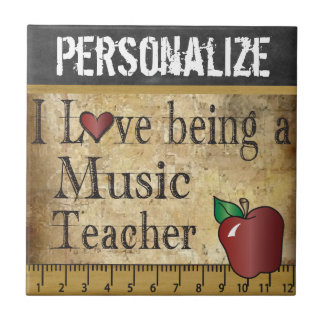 Love being a Music Teacher Tile