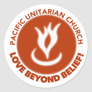 Love Beyond Belief! Round Sticker