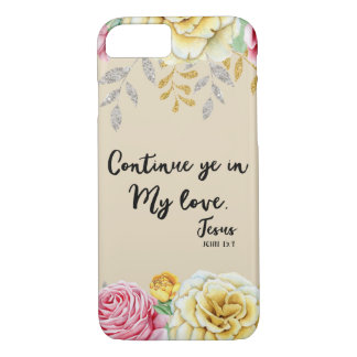 Love Bible Verse Scripture iPhone 8/7 Case