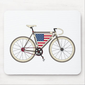 Love Bike, Love America Mouse Pad