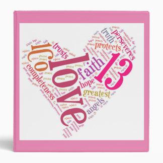 Love Binder Pink
