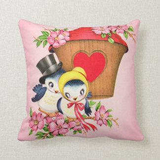 Love Bird Bloosom Cushion