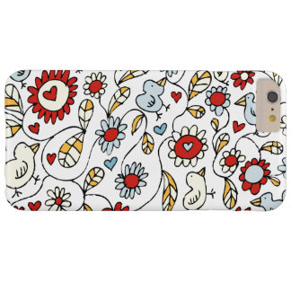 Love Bird Flowers iPhone 6 Plus Case