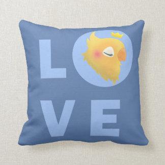 Love Bird Throw Pillow