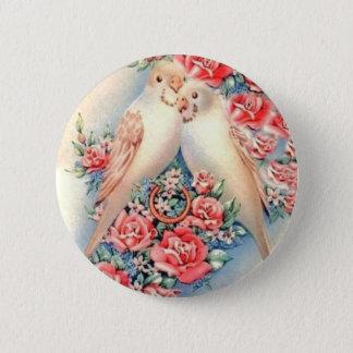 Love Birds 2 Inch Round Button