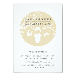 Love Birds Baby Shower Invitation