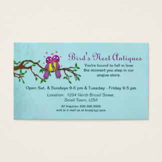 Love Birds - Business Cards - Personalize
