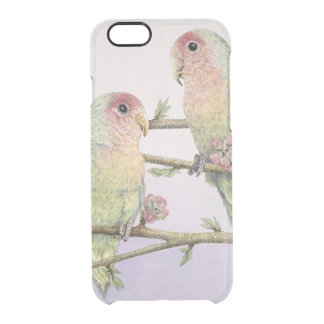 Love Birds Clear iPhone 6/6S Case
