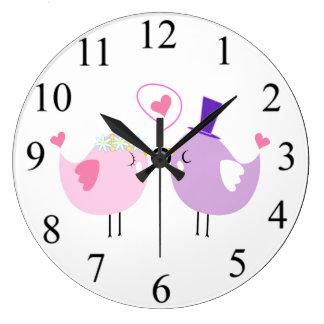 Love Birds Clocks
