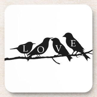 Love Birds Beverage Coaster