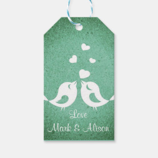 Love Birds Gift Tags