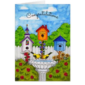 Love Birds Housewarming Card