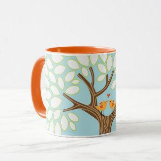 Love Birds in a Tree (Day) Mug