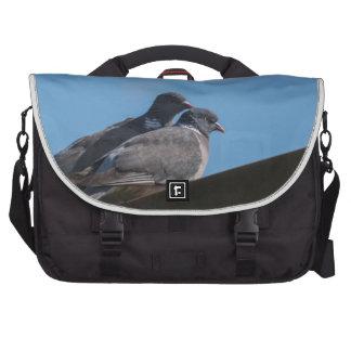 Love birds laptop commuter bag