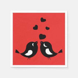 Love Birds Paper Napkin