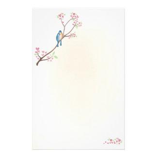 Love Birds Stationary Stationery Paper