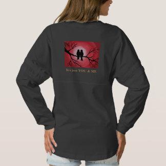 Love birds sweatshirt.  Together forever. Spirit Jersey