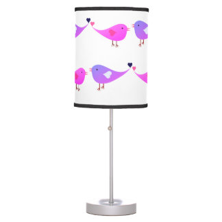 Love birds table lamp