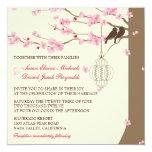 Love Birds Vintage Cage Cherry Blossom Wedding
