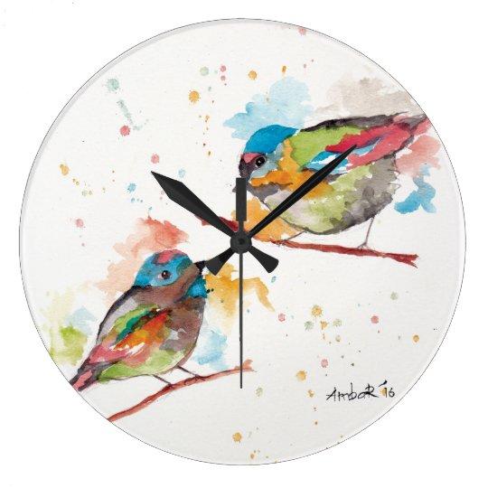 Love Birds Wall Clocks
