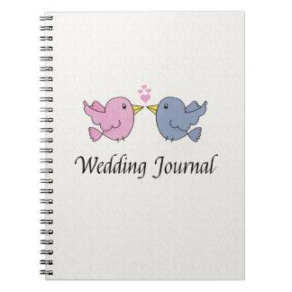 Love Birds Wedding Journal