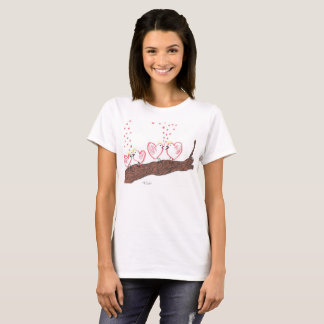 Love birds. Will you be a love bird with me? T-Shirt