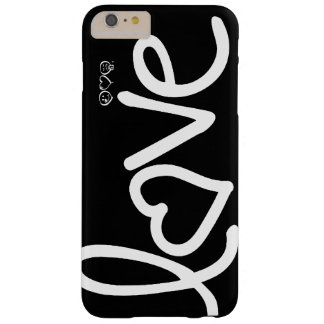 love - black and white barely there iPhone 6 plus case