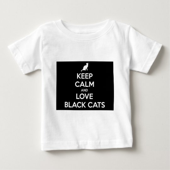 Love Black Cats Baby T-Shirt
