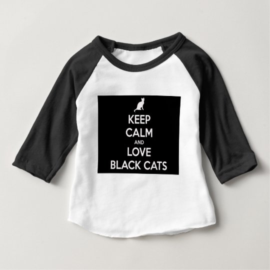 Love Black Cats Baby T-Shirt