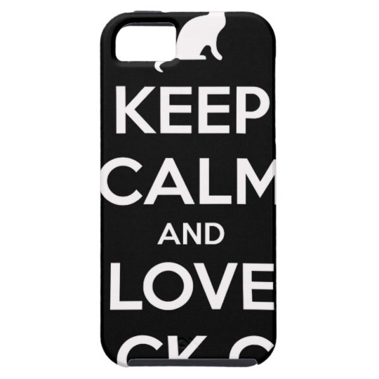 Love Black Cats Case For The iPhone 5