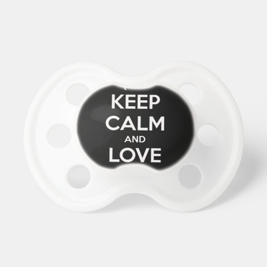 Love Black Cats Pacifier