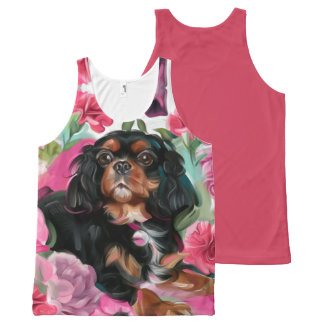 LOVE Black & Tan Cavalier Tank Top | Coral