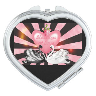 Love Blessings Compact Mirror