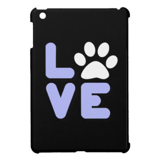 LOVE - Blk/Blu iPad Mini Case