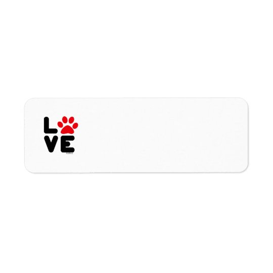 LOVE - Blk/Red