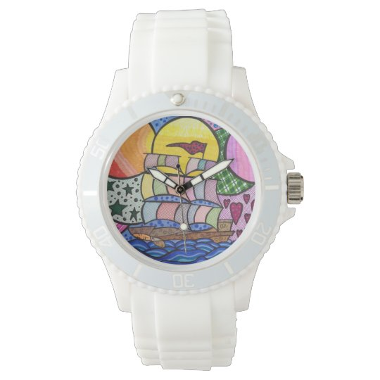 Love boat wristwatch
