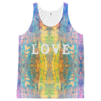 love boho design All-Over-Print tank top