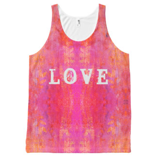 love boho design All-Over-Print tank top