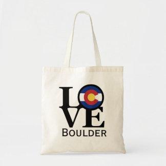 LOVE Boulder Colorado Tote