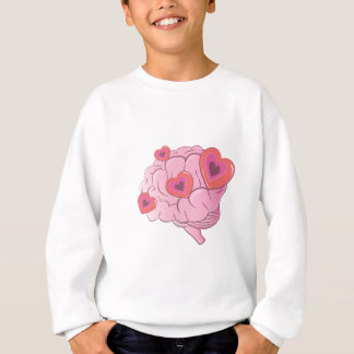 Love Brain Sweatshirt