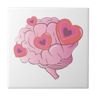 Love Brain Tile