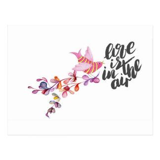 Love Branch Bird Postcard