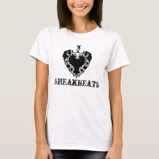 Love Breakbeats-Womens Lime Short Sleeve T T-Shirt