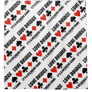 Love Bridge It's A Relaxing Game Four Card Suits