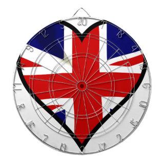 Love Britain Dartboard