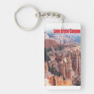 Love Bryce Canyon Keychain