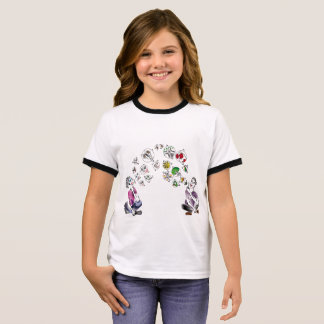Love Bubbles Ringer T-Shirt