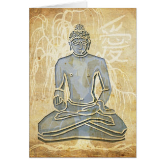 Love Buddha Card