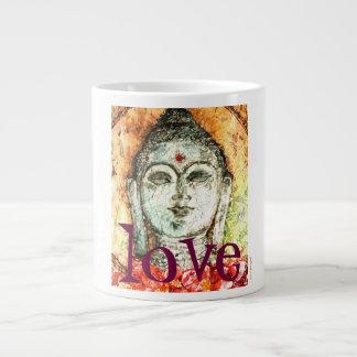 Love Buddha Watercolor 20oz Jumbo Ceramic Mug