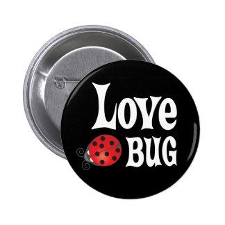 Love Bug - Ladybug 2 Inch Round Button
